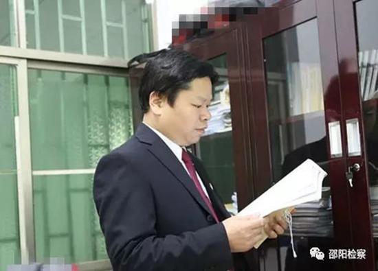 邵东县原反渎局局长赵伟初 本文图片均来源网络