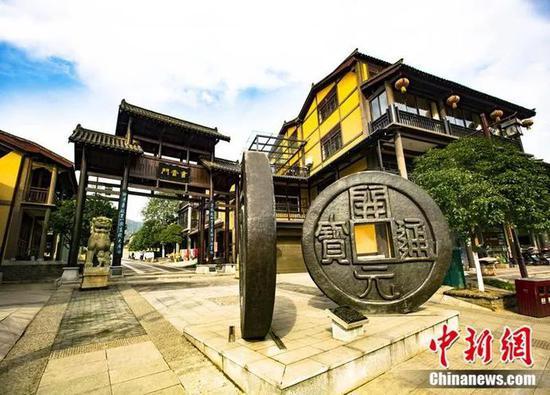 长沙书堂山欧阳询文化园。