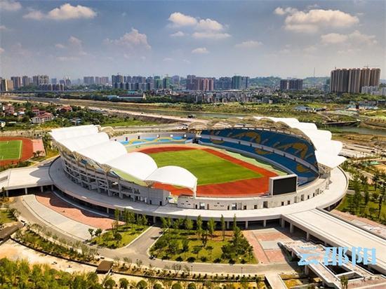 壮观靓丽的体育场