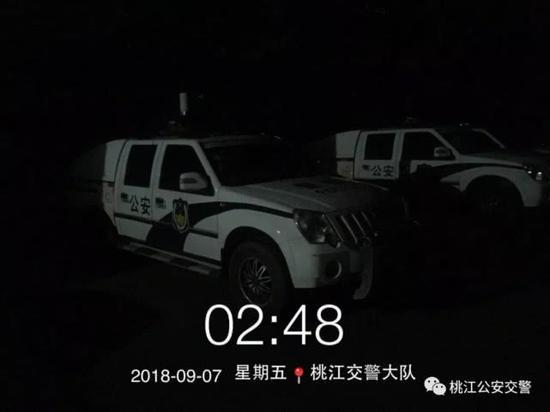 ▲民警连夜办案