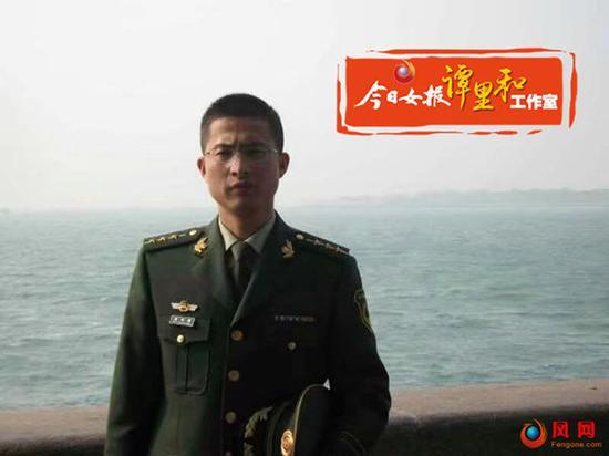 在西藏服役21年的转业军人周双勇。