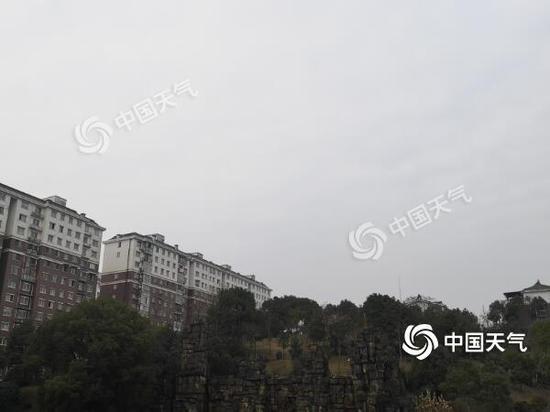 2月25日,长沙天气阴沉