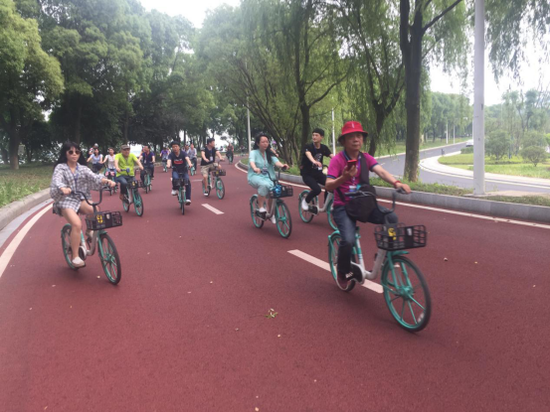 全国百家网媒绿色骑行 见证常德高质量发展加速度