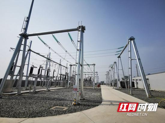 湖南省内首座全户内钢结构智能变电站正式投运
