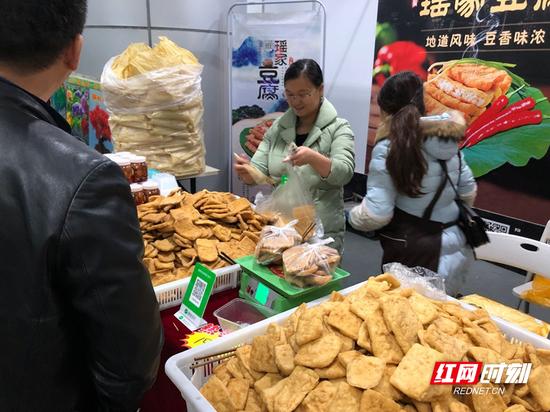 瑶家豆腐深受市民喜爱。