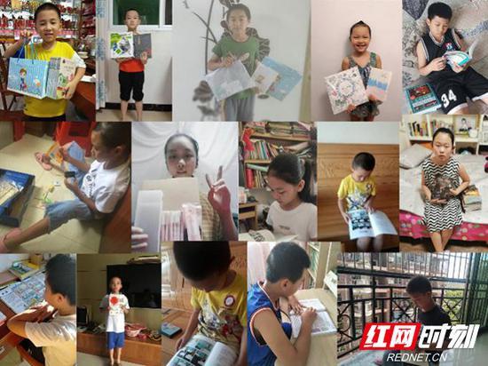 中南大学湘雅公共卫生学院满天星云支教团为孩子们赠送礼物。