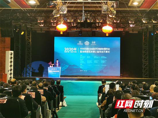 2020中华环保社会组织可持续发展年会在长沙举行