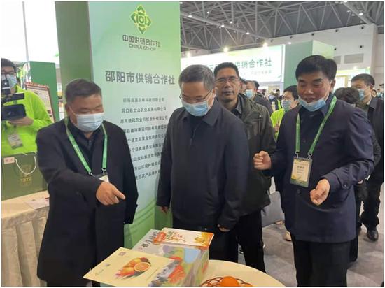 崀山脐橙亮相十八届中国国际农产品交易会