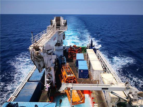 """231米!湖南科技大学领衔研发""""海牛Ⅱ号""""海试成功!刷新世界"""