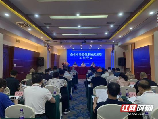 6月8日,湖南省市场监管系统反垄断工作会议在长沙举行。