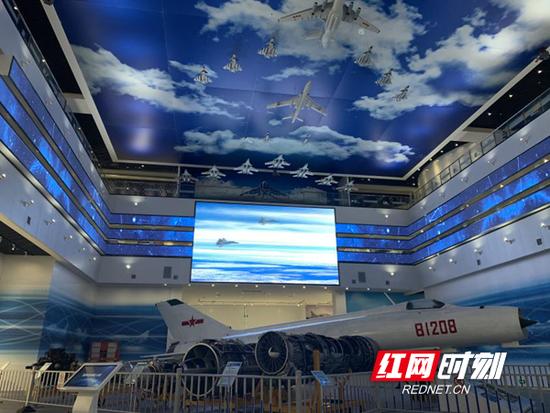 长沙航空职业技术学院航空馆。