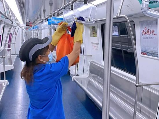 长沙地铁全力开展疫情防控排查,与市民乘客共筑安全防线