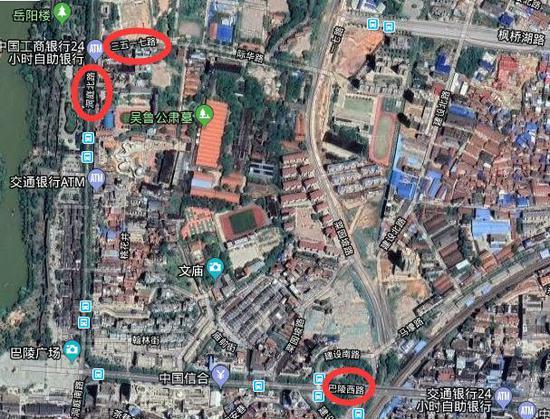 谷歌地图大家看到了吗