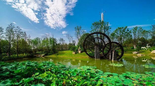 常德最大的城市公園驚艷效果圖曝光 面積1000畝