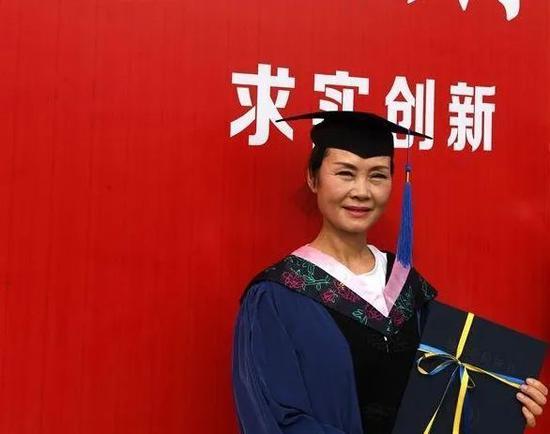 周亚松硕士研究生毕业照