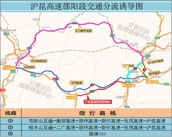 6。 沪昆高速湘潭段。