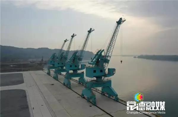 桃源港陬市港区千吨级码头