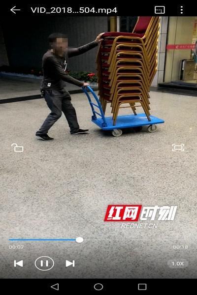 李超拍摄的视频画面。