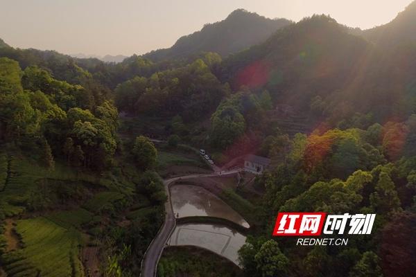 石门县壶瓶山镇平洞村村民王美绒的家。