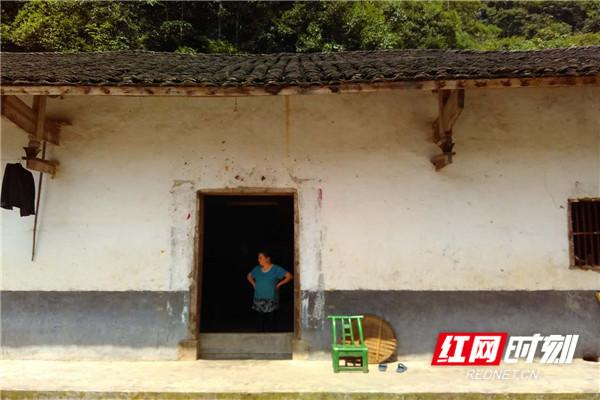 王美绒家的老房子照片。