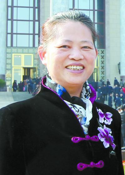 田红旗委员湖南日报记者 刘尚文 摄