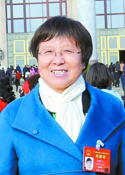 阳国秀代表湖南日报记者 罗新国 摄