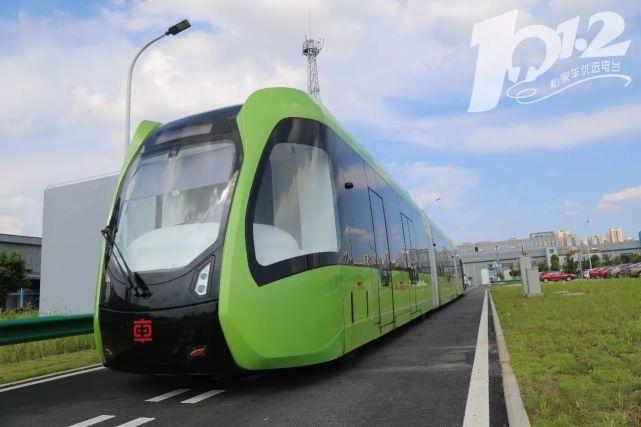 列车在公路上跑!首条智轨示范线即将在株洲建成使用