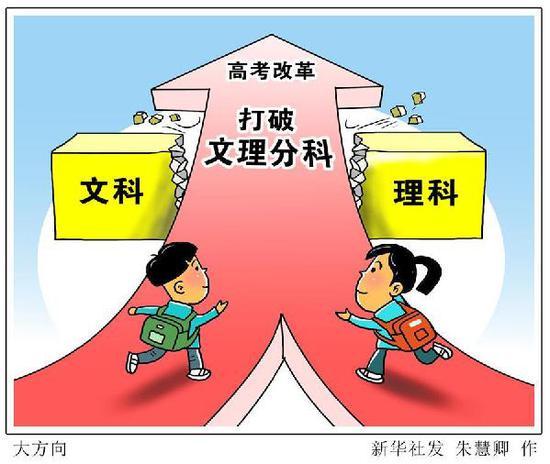 漫画:大方向 新华社发 朱慧卿 作