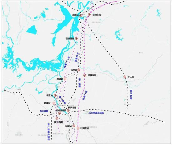 这些铁路线路有了新消息!有关长岳城铁、长株快线、常岳九铁
