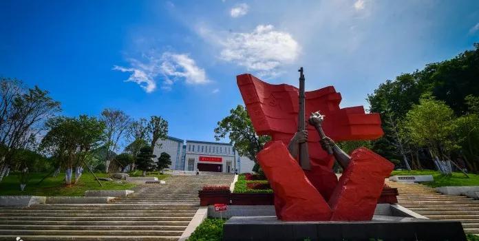 秋收起义纪念园。图源:浏阳市人民政府网站。