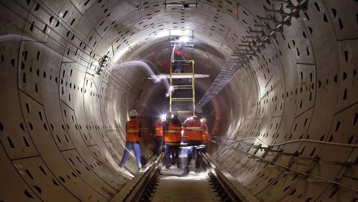 """长沙地铁5号线今年底""""洞通"""" 可按预期实现通车"""