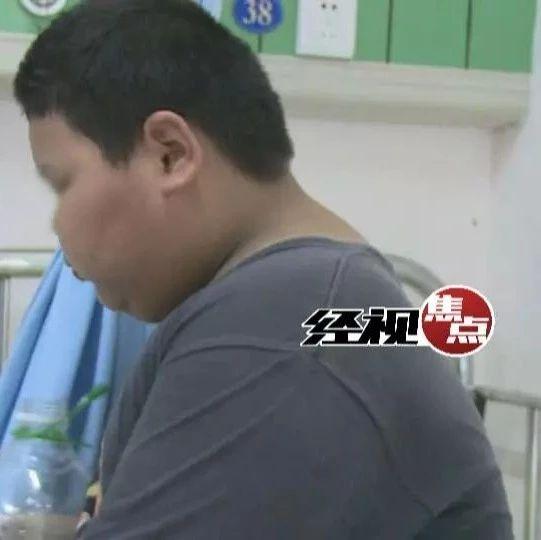 湖南9岁男孩重210斤 喜欢吃素 胖因成谜(图)