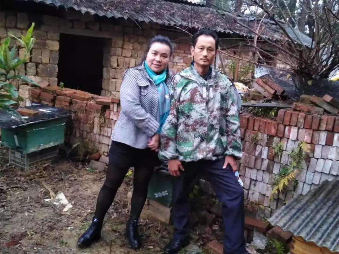 黄旭斌在永州老家的父母