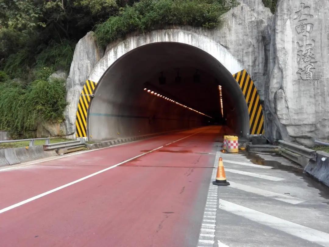 △即将进行施工的大面山隧道