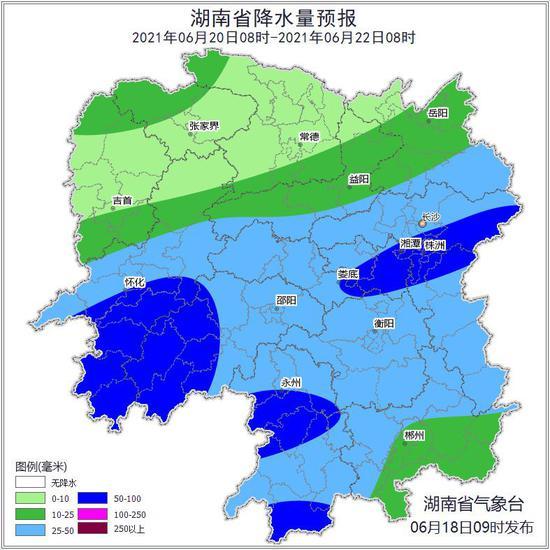 下雨啦!今日起湖南将迎降雨,局地伴有强对流天气