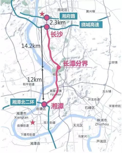 全程无红绿灯!连接长沙与湘潭的这条快速路本月底通车!