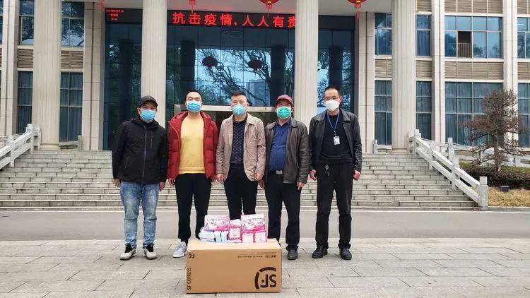 2月27日,第十二站,祁东县公安局,为缉毒大队一线民警捐送口罩。