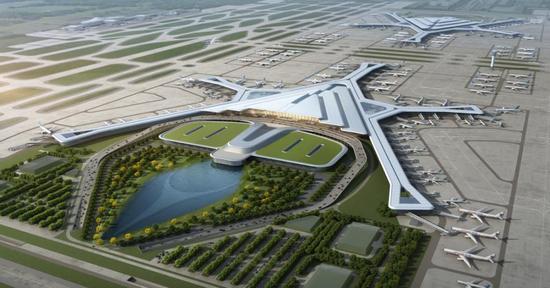 长沙机场改扩建工程可研报告获国家发改委批复 将新建第三跑道