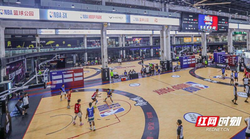 NBA 3X三人篮球挑战赛今日长沙开战。