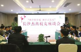 """1月29日,""""桃李聚星城湘才话发展""""长沙杰出校友座谈会举行。图/受访者提供"""