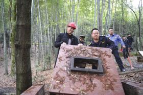 石燕湖生态公园退出烧烤界 50个烧烤台全部拆除