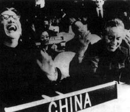 中华人民共和国代表团在联合国大会全体会议上