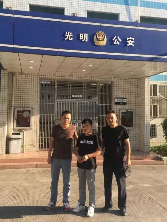 民警在深圳抓获犯罪嫌疑人彭某