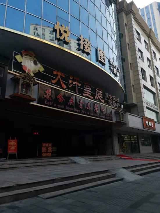 浏城桥农贸市场商业裙楼入口