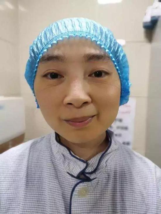 刘艳在武汉防疫一线