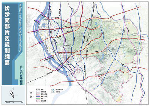 《规划纲要》提出,着力构建面向长株潭的半小时交通圈、服务圈和商业圈。