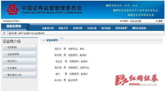湖南证监局官网息显示,何庆文已出任湖南证监局党委书记、局长。