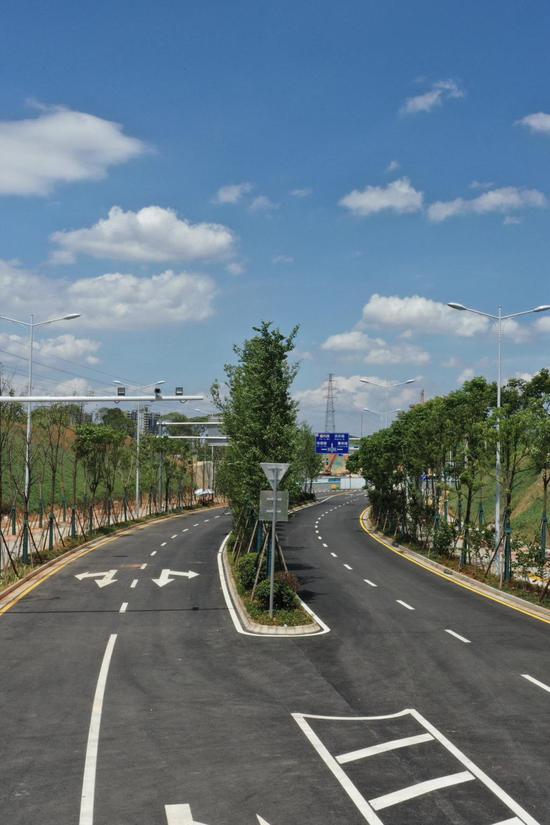 长沙新雅塘冲路年底将建成,可有效缓解南二环香樟路交通压力