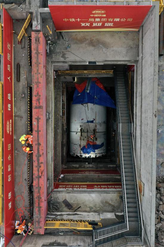 长株潭城际轨道交通西环线即将开始盾构施工