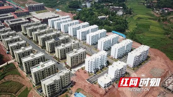 邵阳县塘渡口镇梅溪安置区。